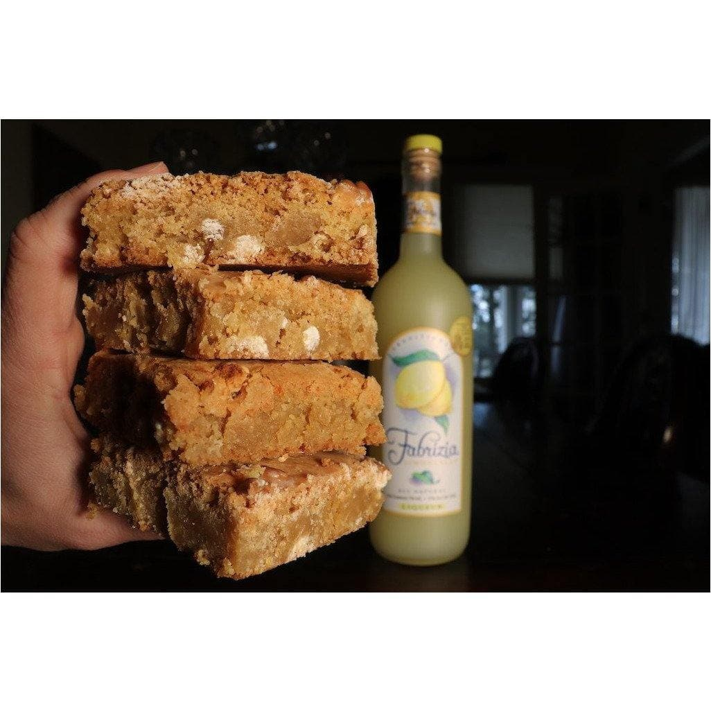 Limoncello Blondies