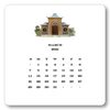 2021 Chinoiserie Calendar with Easel