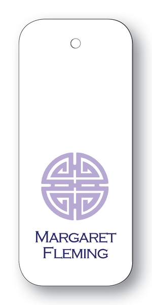 Asian Medallion Lavender & Navy