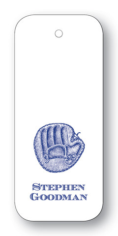 Baseball Glove - Navy (Customizable)