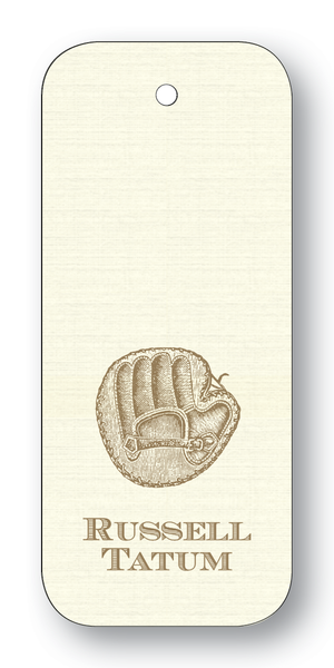 Baseball Glove - Pewter (Customizable)