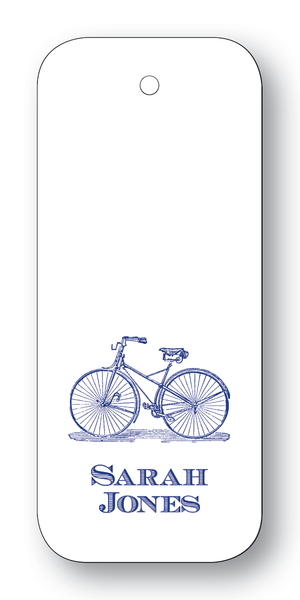 Bicycle - Navy (Customizable)