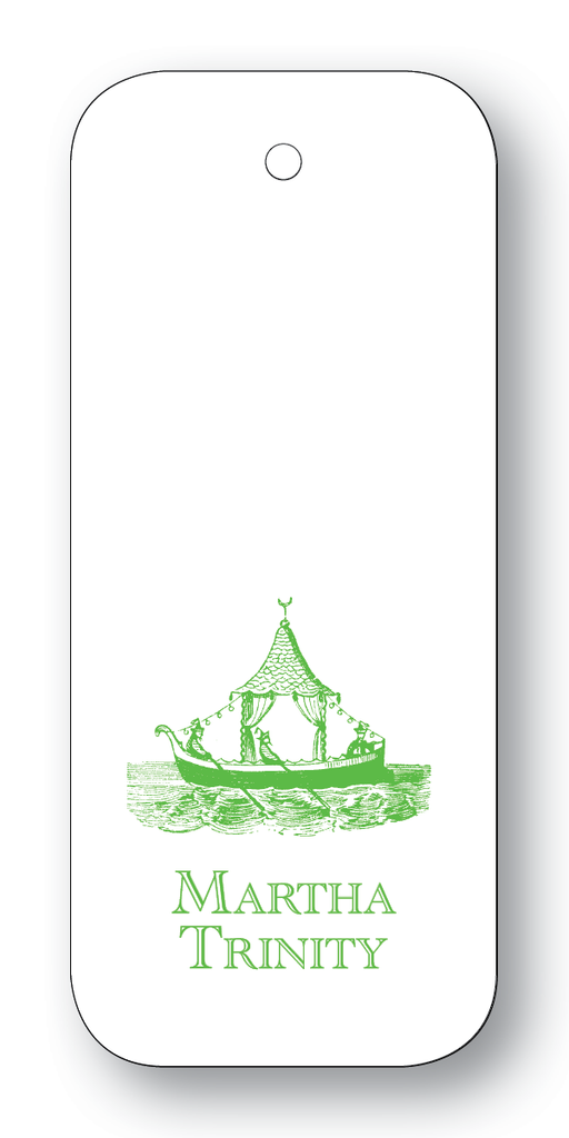 Chinoiserie Boat - Clover (Customizable)