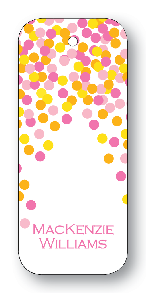 Confetti - Pink (Customizable)