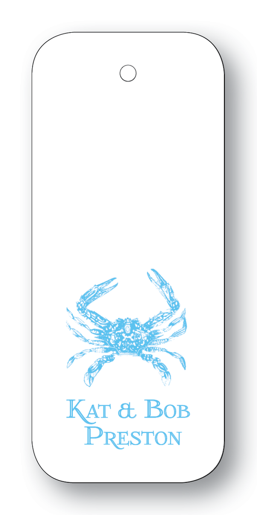 Crab - Turquoise (Customizable)