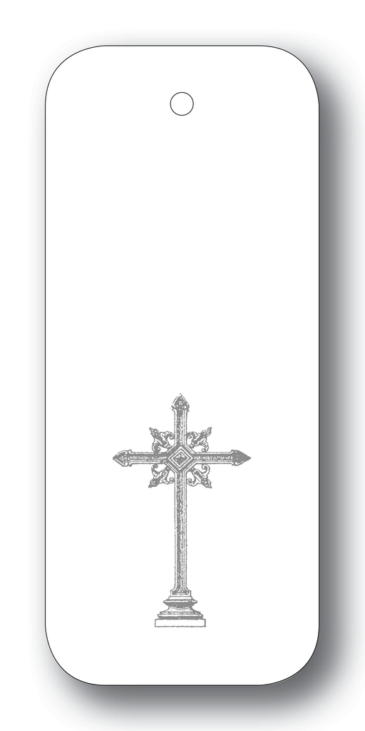 Cross on White