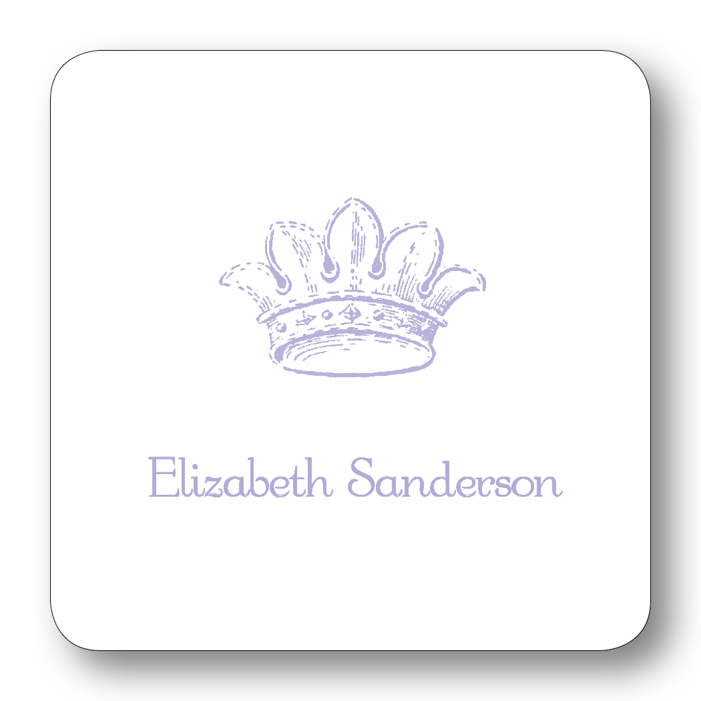 French Crown - Lavender (Customizable)
