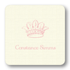 French Crown Pale Pink (Customizable)
