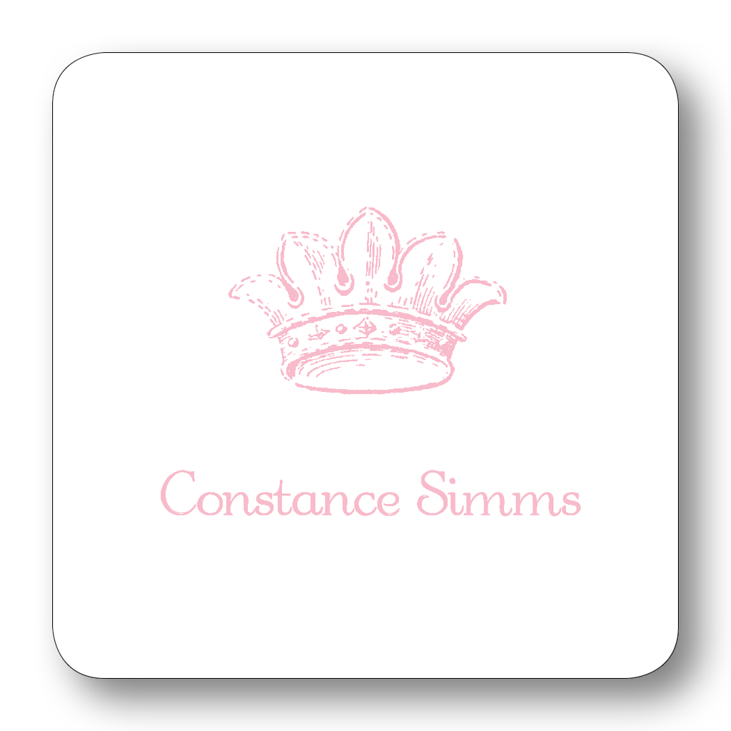 French Crown - Pale Pink (Customizable)