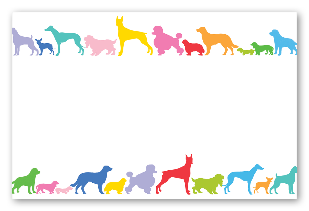 Dog Line (Multi-Colored)
