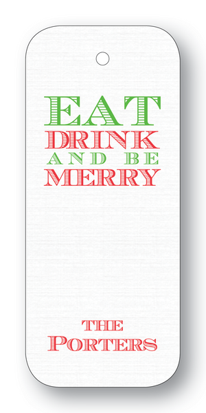 Eat Drink and be Merry - Clover (Customizable)