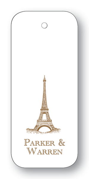 Eiffel Tower Chocolate (Customizable)