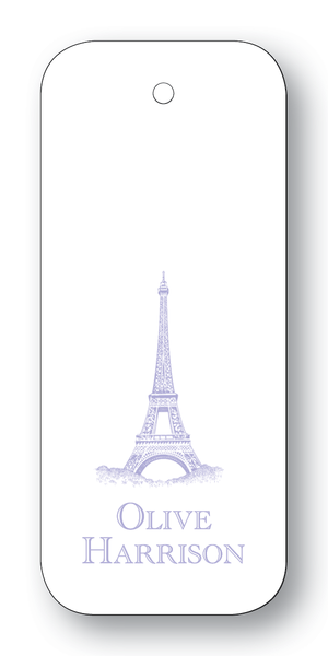 Eiffel Tower - Lavender (Customizable)