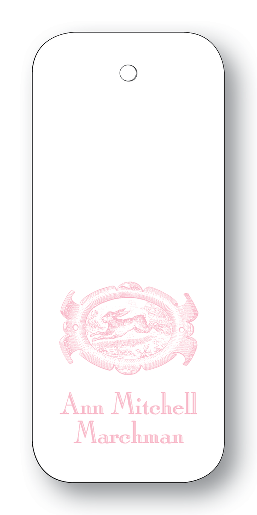 English Hare - Pale Pink (Customizable)