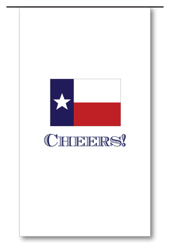 Flag of Texas Wine Bag