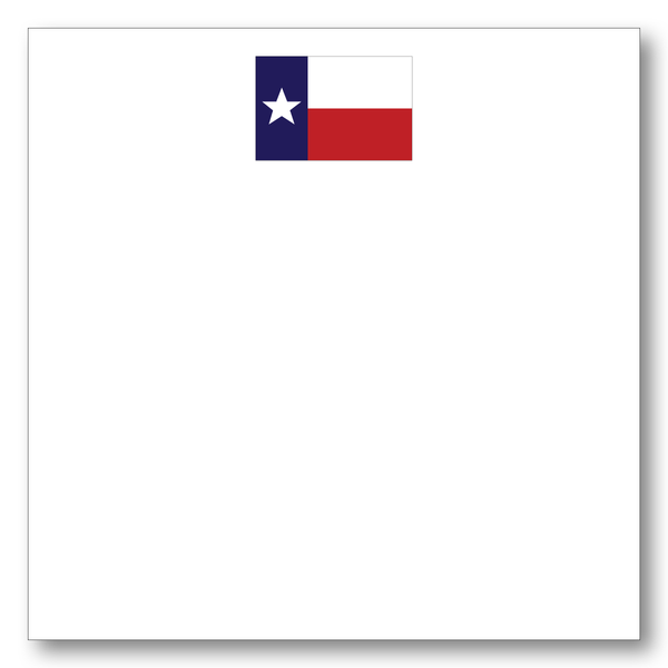 Flag of Texas Note Block