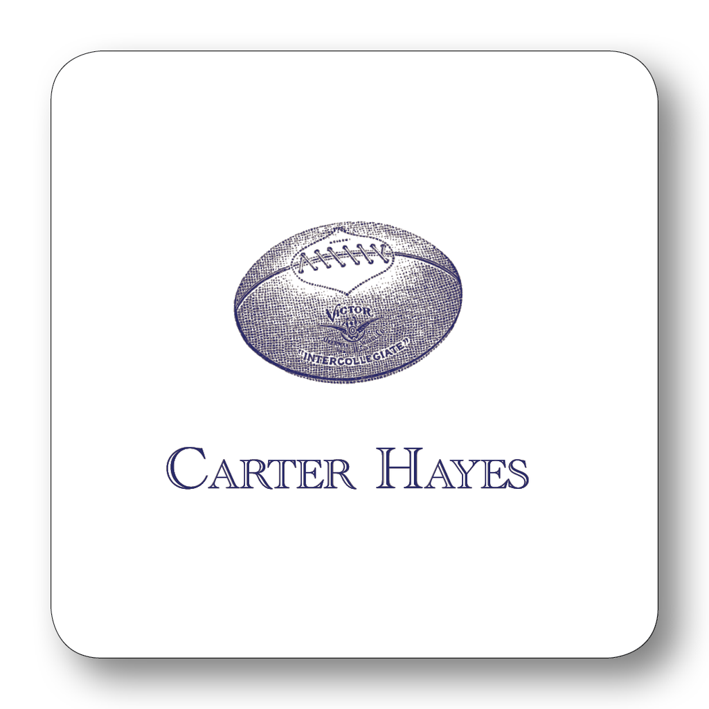 Sports - Football, Navy (Customizable)