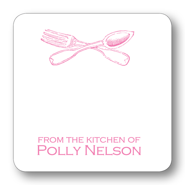 Fork & Spoon - Azalea (Customizable)