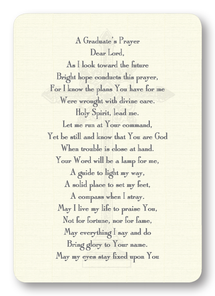 A Graduate's Prayer (Package of 8)
