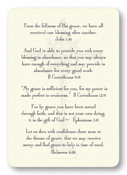 Verses on Grace (Package of 8)
