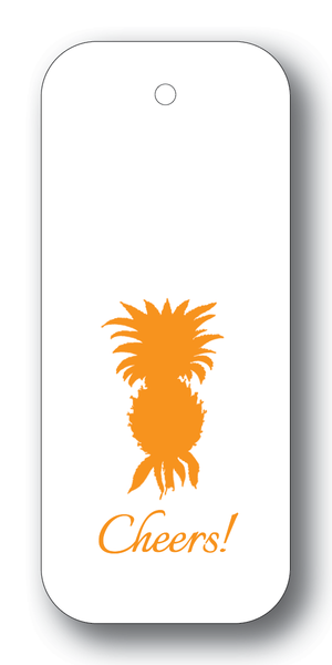 Pineapple Silhouette Orange GT