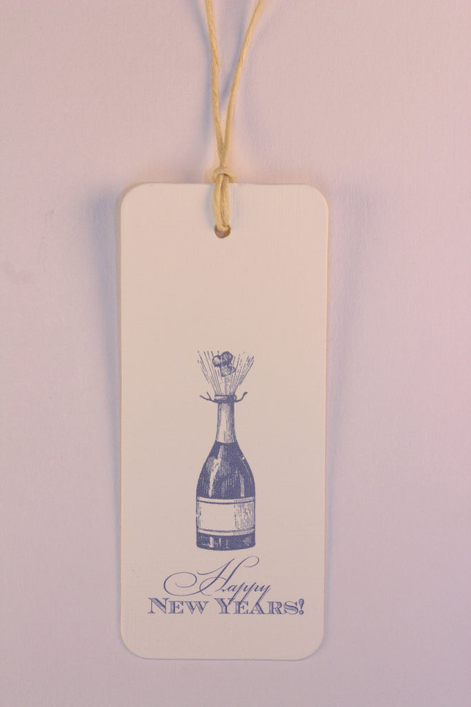 "Champagne Bottle ""Happy New Year!"""
