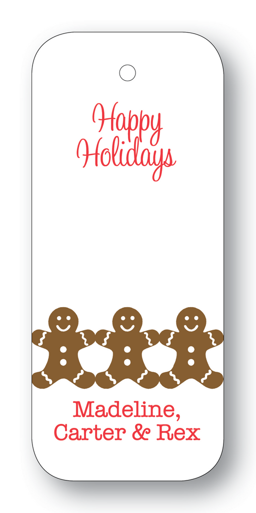 Gingerbread Men (Customizable)