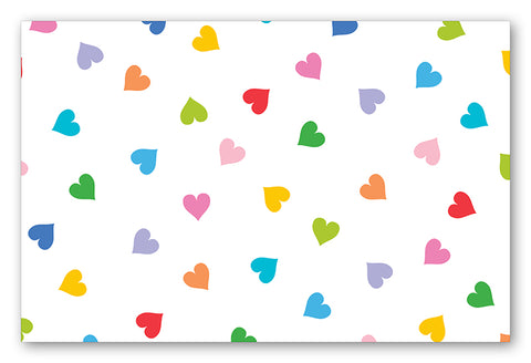 Scattered Hearts Placemats (Multicolor)