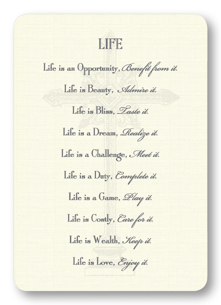 LIFE - Mother Teresa (Package of 8)