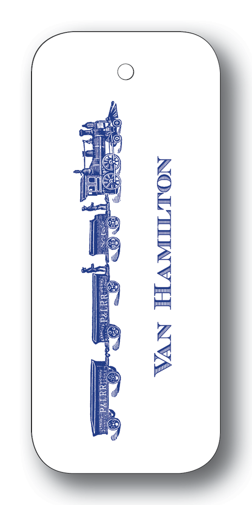 Long Train - Navy (Customizable)