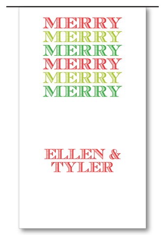 Merry Merry Clover (Customizable)