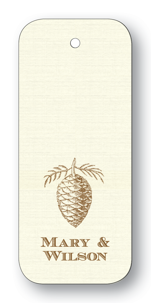 Pinecone Chocolate (Customizable)