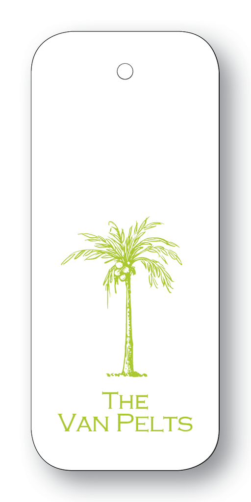 Royal Palm Tree Chartreuse (Customizable)
