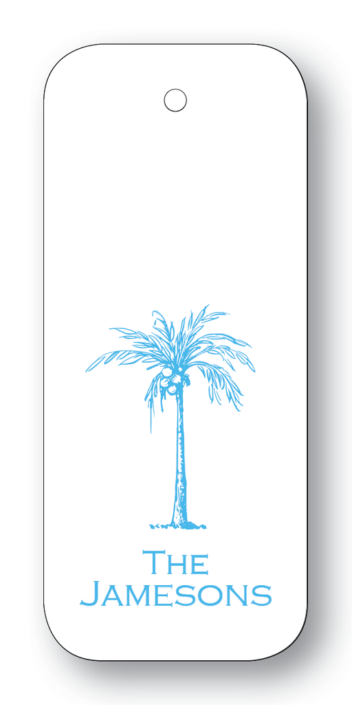 Royal Palm Tree - Turquoise (Customizable)