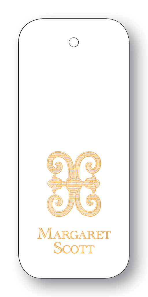 Scroll - Orange (Customizable)