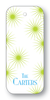 Starbursts - Chartreuse & Turquoise (Customizable)