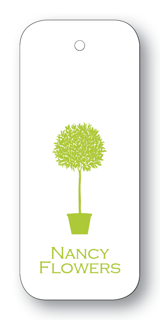 Topiary Silhouette - Chartreuse (Customizable)