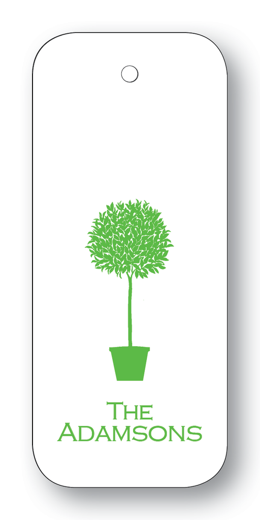 Topiary Silhouette - Clover (Customizable)