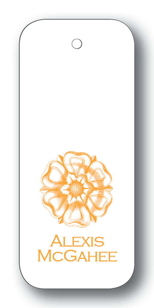 Tudor Rose - Orange (Customizable)