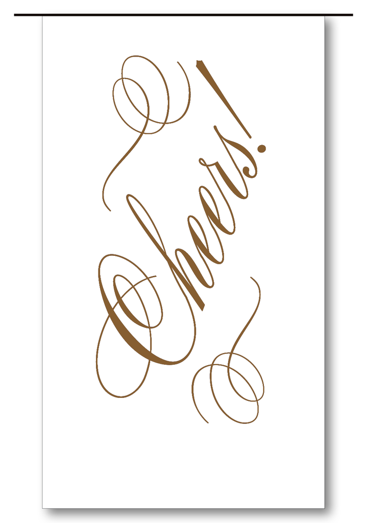 Cheers Script (Chocolate)