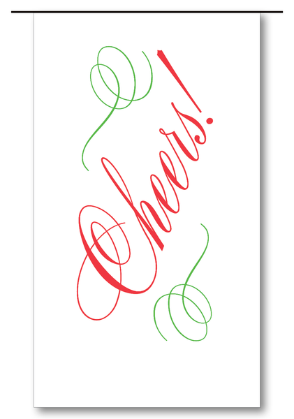 Cheers Script (Red & Clover)