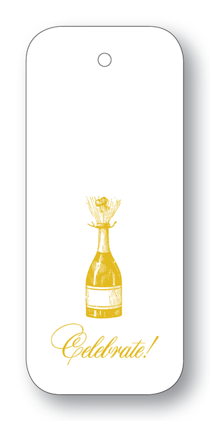 Celebrate! Champagne Bottle Gold