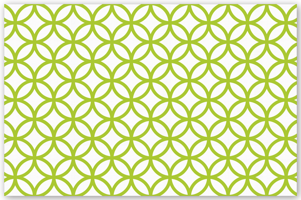 Circle Diamond Background Chartreuse