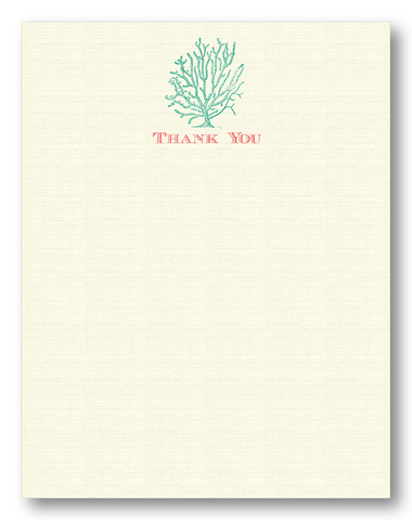 "Coral ""Thank You"""