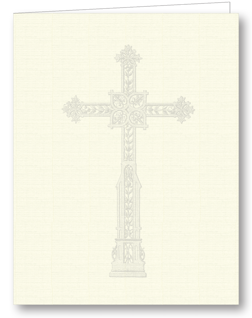 Cross; Happy Birthday Interior - Psalms 118:24