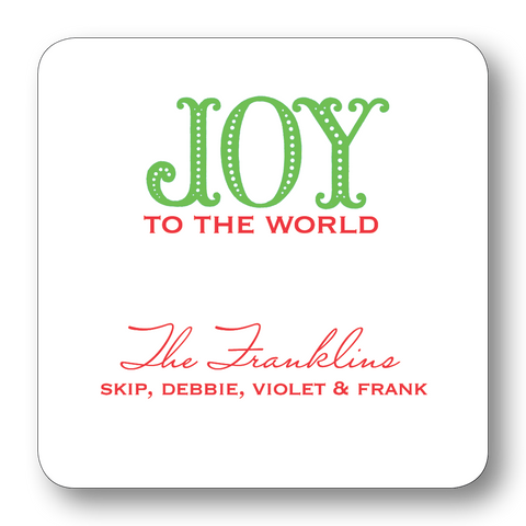 Joy to the World (Customizable)