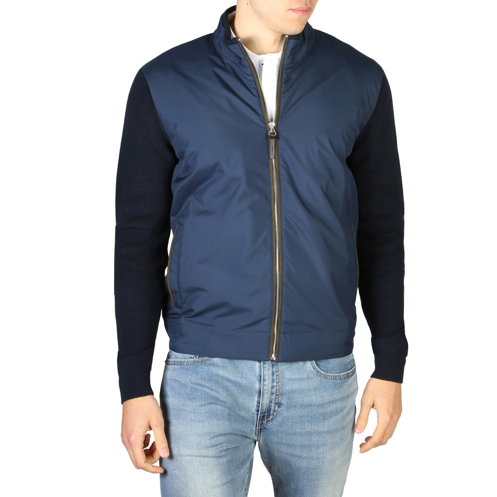 Hackett London Men's Knit Padded Jacket