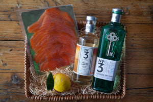 The No3 Gin, No3 Vesper & Smoked Salmon Hamper