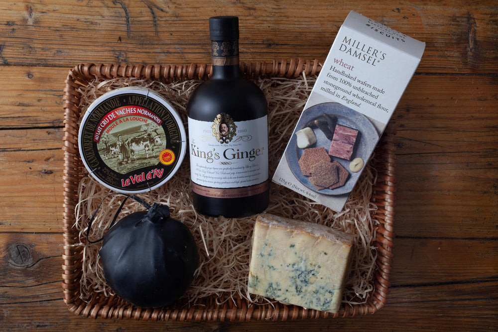 The King's Ginger & Cheese Hamper