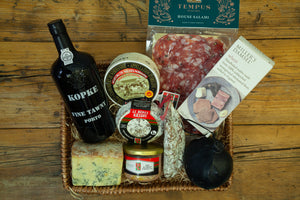 The Charcuterie, Cheese and Port Hamper